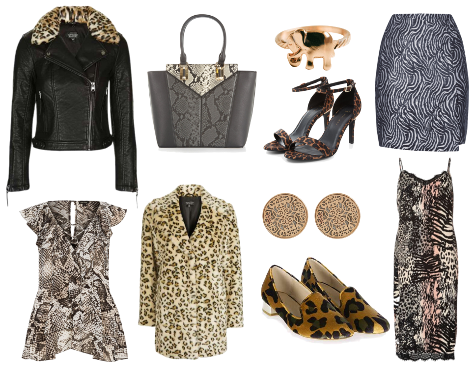 How to Style Animal Print